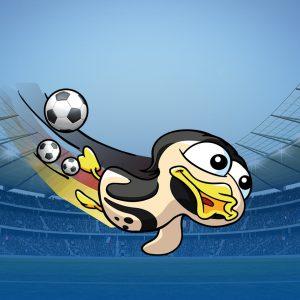 Spreewelten-Orakel Flocke ist heiß auf die Fußball WM
