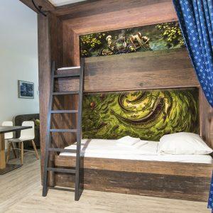 Kinder, Kinder. Diese kultigen Betten sind Pinguinmäßig genial!