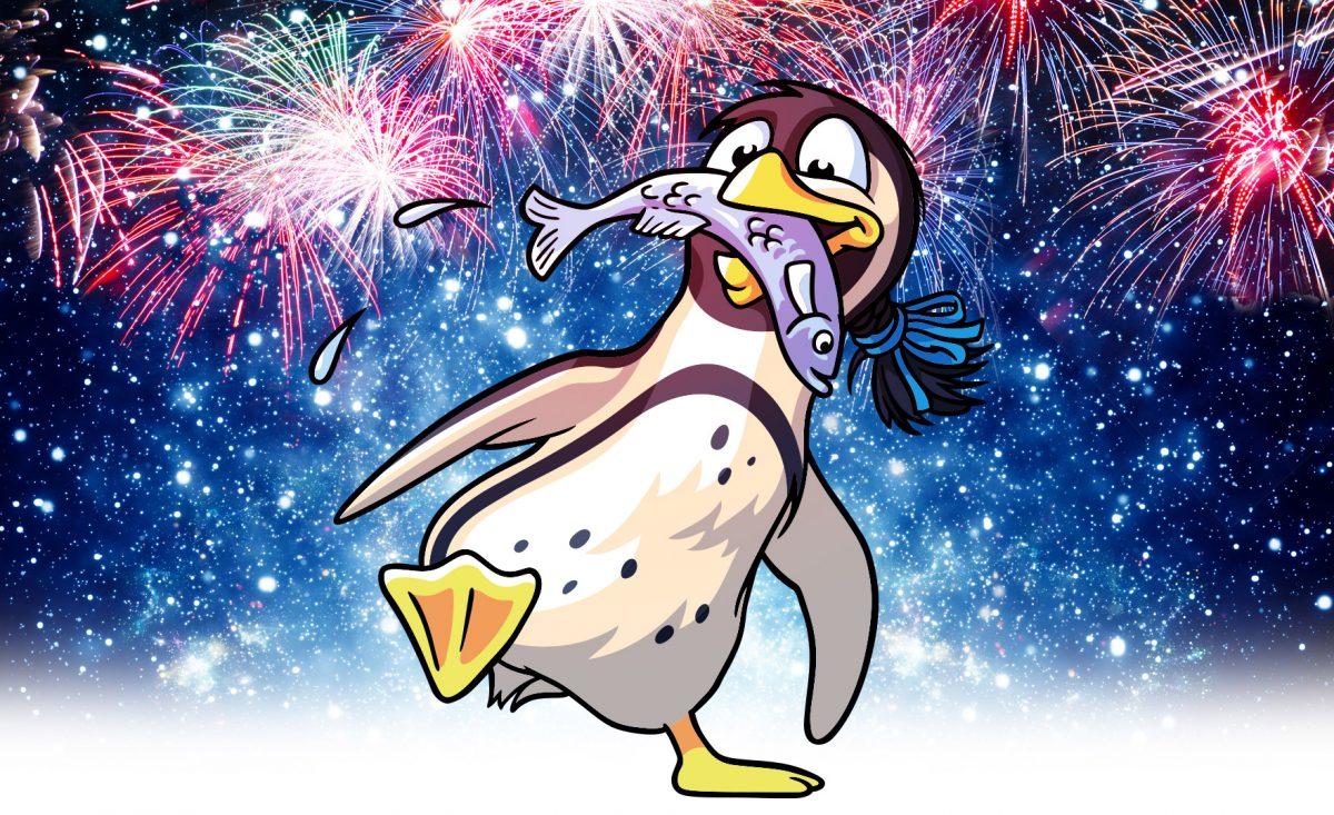 Pingunews und die Spreewelten wünschen einen guten Rutsch in das Jahr 2019